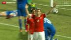 Video «Vor dem Spiel gegen Island» abspielen