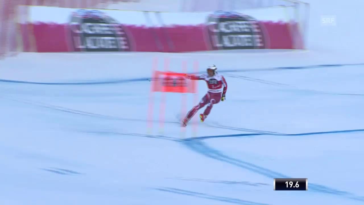 Ski: Abfahrt Männer, Kilde verliert Ski
