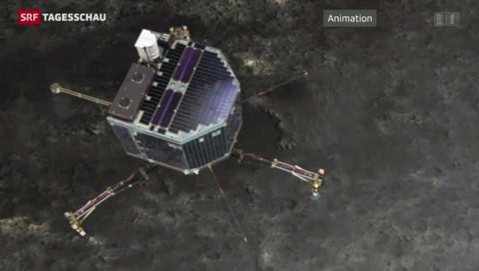 Erfolgreiche Landung auf Komet