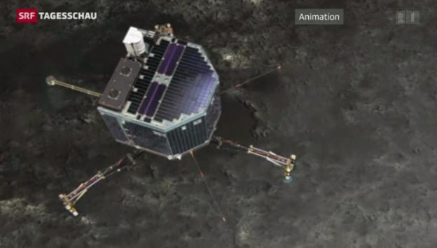 Video «Erfolgreiche Landung auf Komet» abspielen