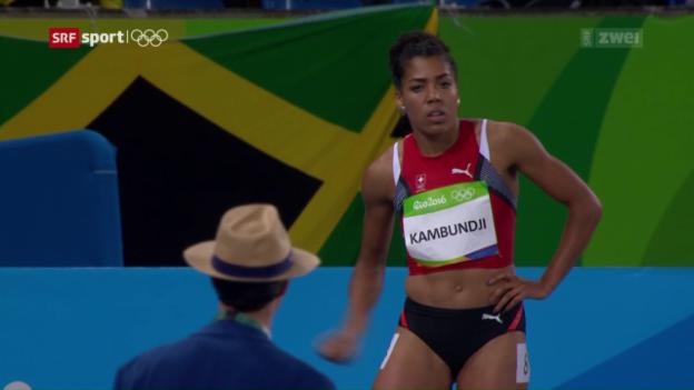 Video «Die Leichtathletik-Entscheidungen und Kambundjis Out» abspielen