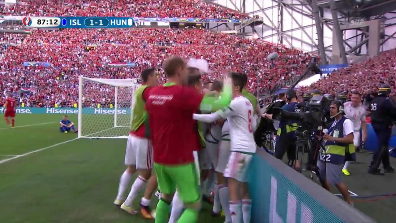 Island-Ungarn: Die Live-Highlights