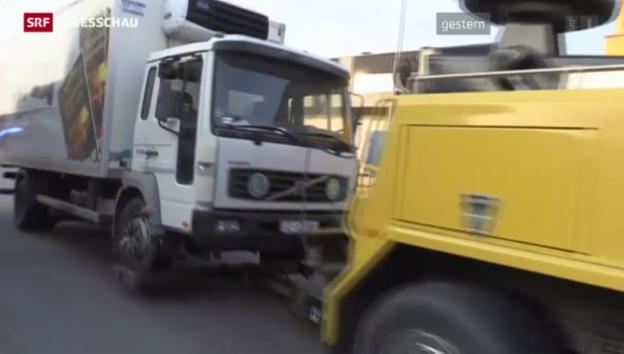 Video «Im Flüchtlings-LKW starben auch Kinder» abspielen