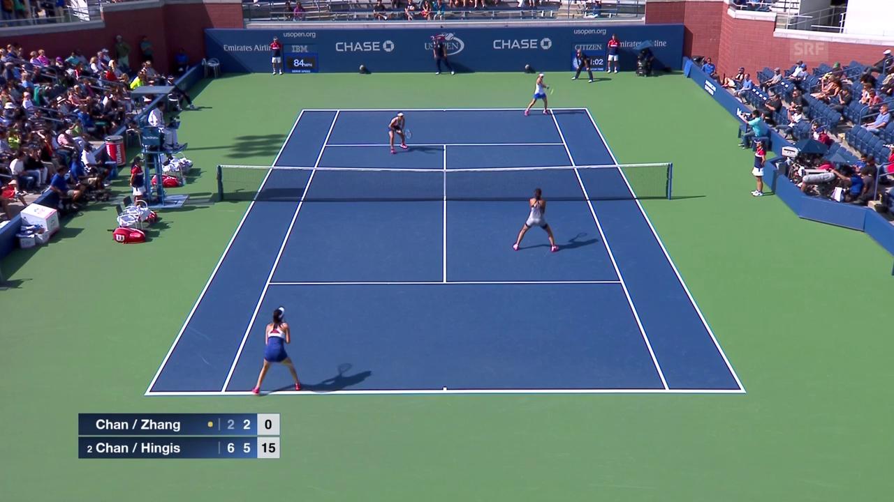 Live-Highlights Hingis/Chan - Zhang/Chan