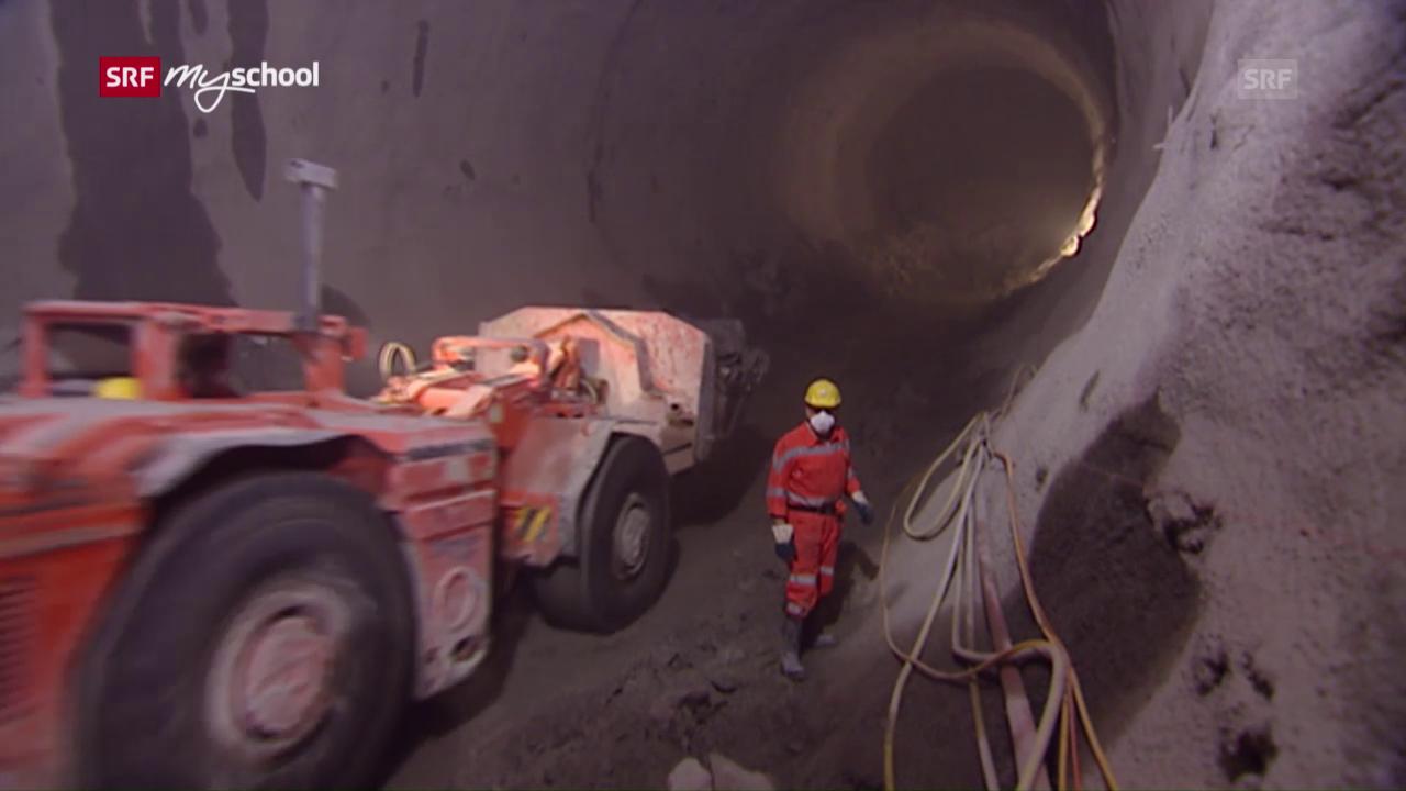 Wo lauert die grösste Gefahr für die Mineure im Tunnelbau?