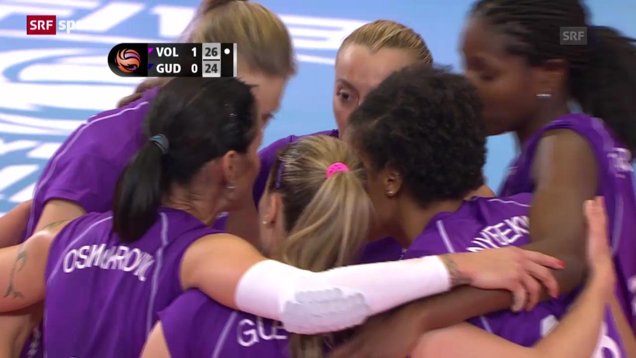 Volleyball: Volero Zürich mit gelungenem Start