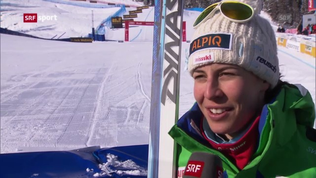 Ski: Abfahrts-Training Frauen in Cortina («sportaktuell»)