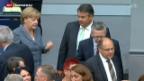 Video «Deutschland nach Österreichs Flüchtlingsentscheid in der Krise» abspielen