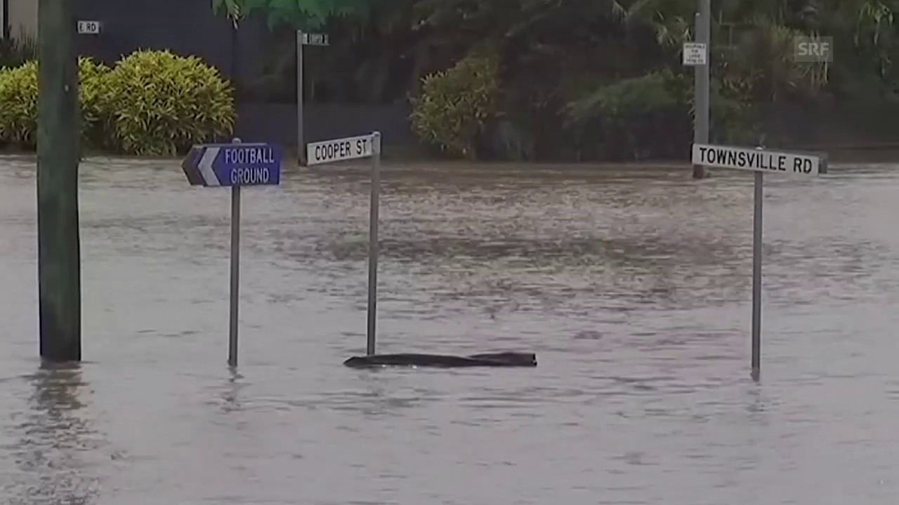 Hochwasser in Nord-Queensland (unkommentiert)