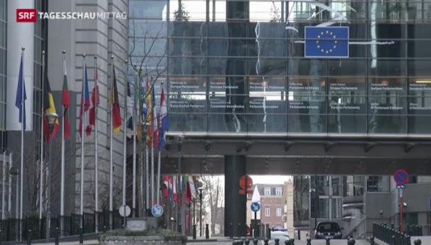 Video «EU berät über verschärfte Sanktionen für Russland» abspielen