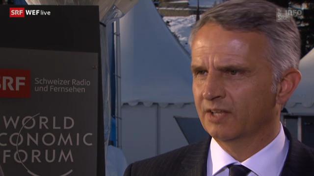 Didier Burkhalter, Aussenminister