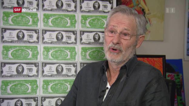 Video «Sind Notenfälschungen im grossen Stil noch möglich?» abspielen