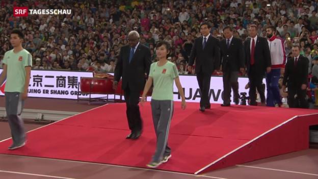 Video «Leichtathletik-Weltverband am Pranger» abspielen