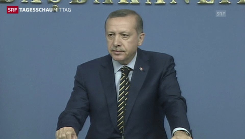 Regierungskrise in der Türkei (Tagesschau, 26.12.2013)