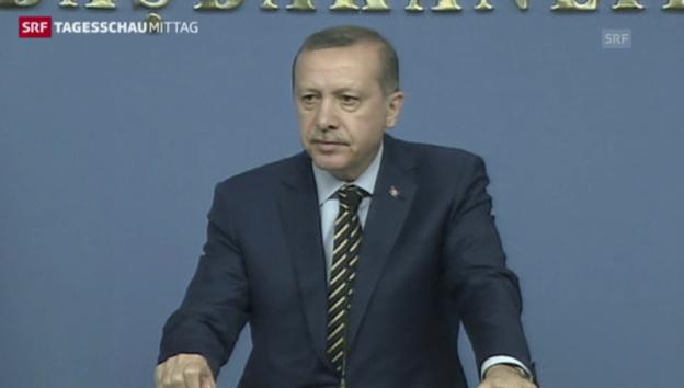 Video «Regierungskrise in der Türkei (Tagesschau, 26.12.2013)» abspielen