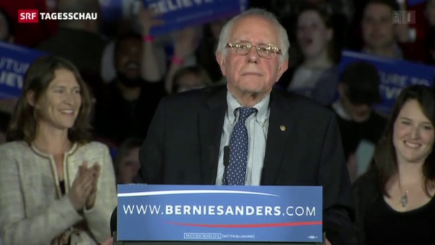 Video «Bernie Sanders wittert Morgenluft» abspielen