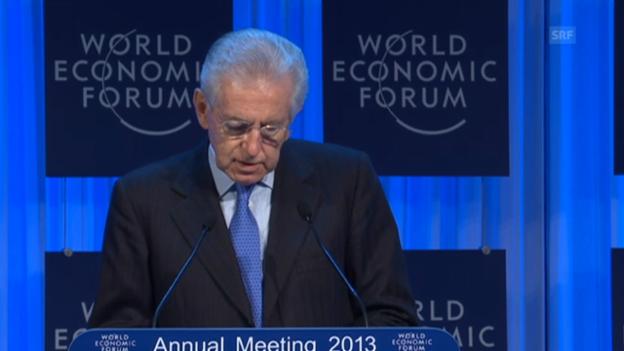 Video «Mario Monti über die Situation in Italien» abspielen