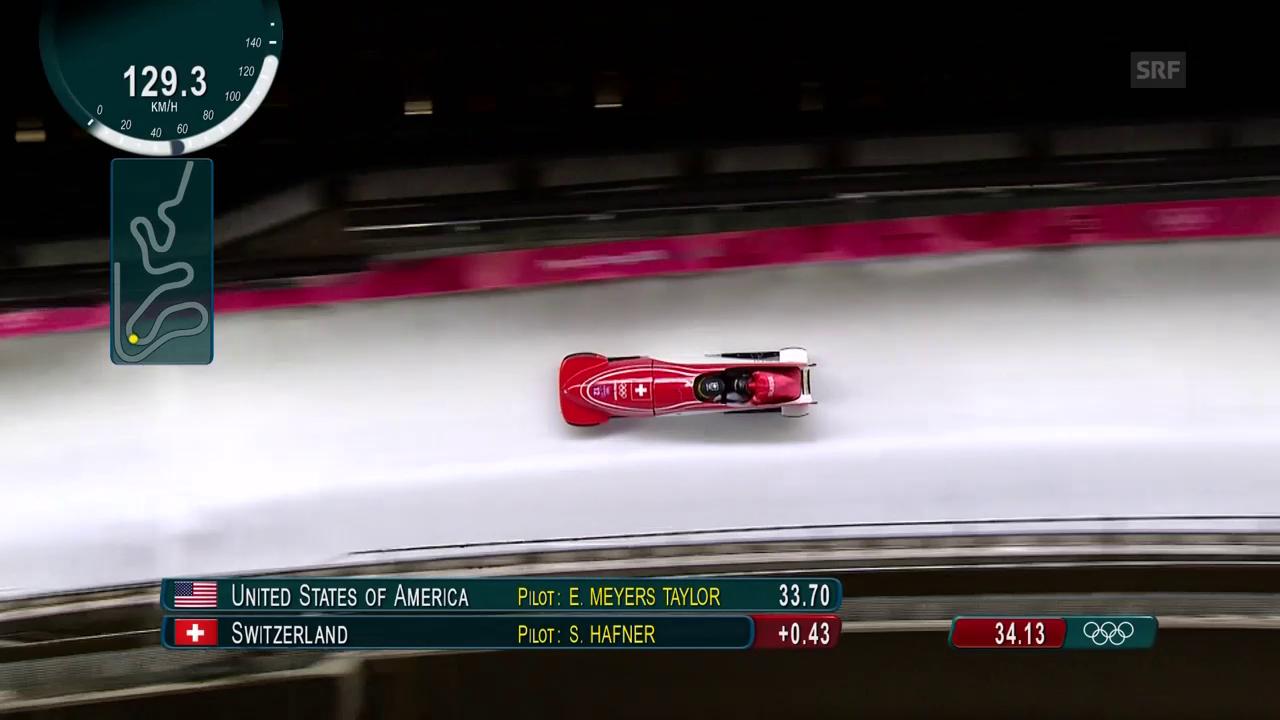 Der 1. Lauf der Schweizerinnen