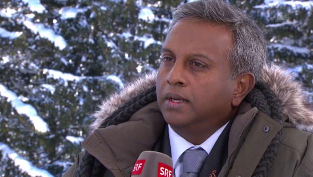 Video «Amnesty Generalsekretär über seine Rolle am WEF» abspielen