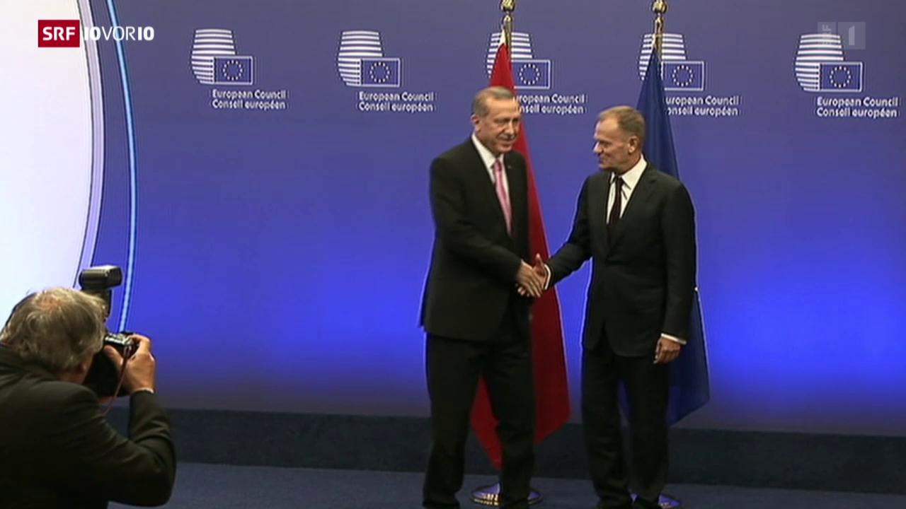 Die EU hofft auf Erdogan
