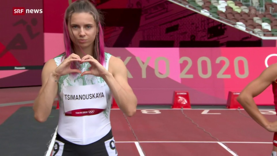 La sprintra bielorussa Kristina Timanowskaja survegn asil en Pologna