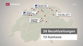 Video «Grossfusion in Schweizer Medienlandschaft» abspielen