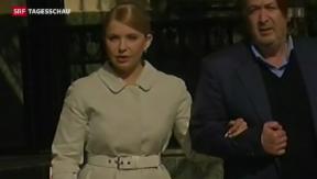 Video «Julia Timoschenko tritt an» abspielen