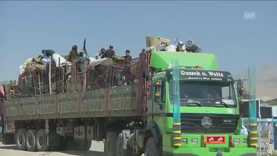 Rückkehr afghanischer Flüchtlinge aus Pakistan (unkomm.)