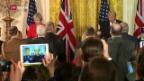 Video «FOKUS: Gipfeltreffen von May und Trump» abspielen