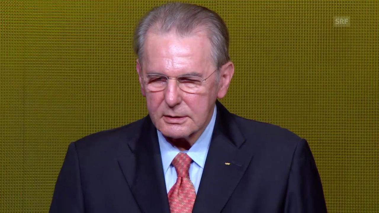FIFA-Gala: Presidential Award 2013 an Jacques Rogge