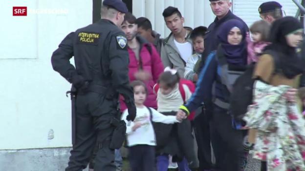Video «Schnellere Rückführung für abgewiesenen Asylbewerber» abspielen