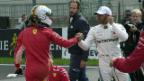 Video «Hamilton holt sich die Pole Position in Belgien» abspielen