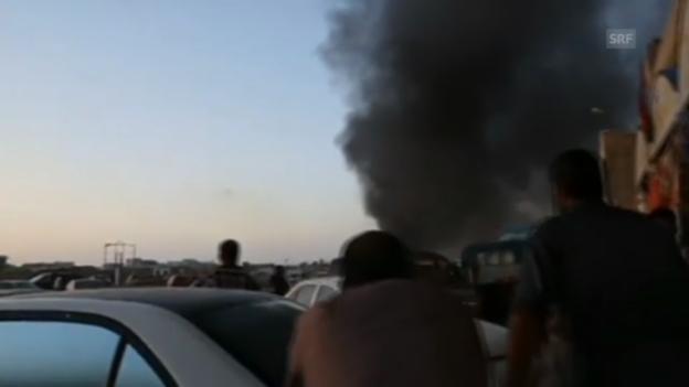Video «Gefechte in Libyen (unkomm.)» abspielen