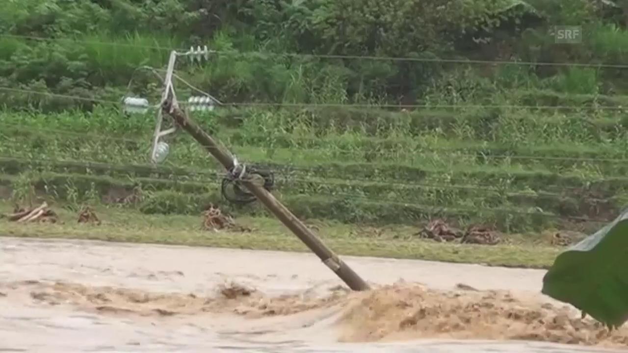 Verheerendes Hochwasser in Vietnam
