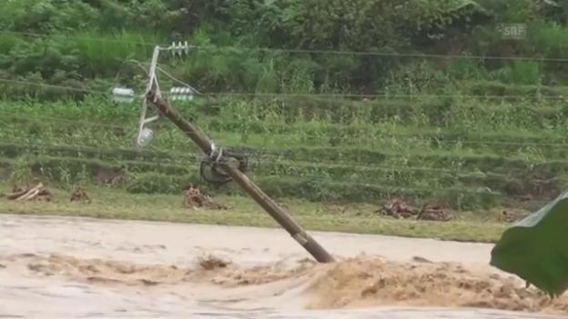Video «Verheerendes Hochwasser in Vietnam» abspielen