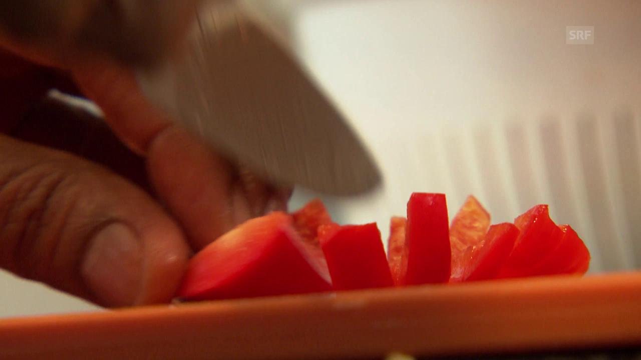 Kumar lehrt Schweizern ayurvedischer Kochkunst
