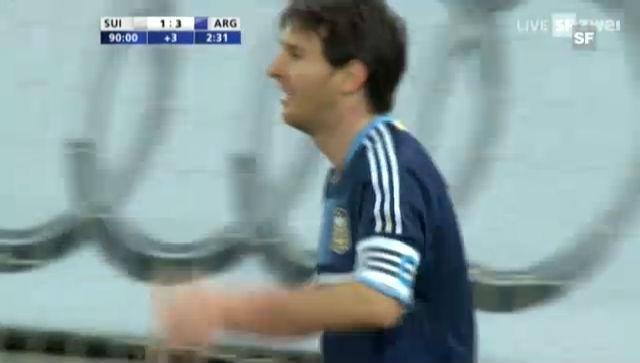 Schweiz - Argentinien: Die Highlights