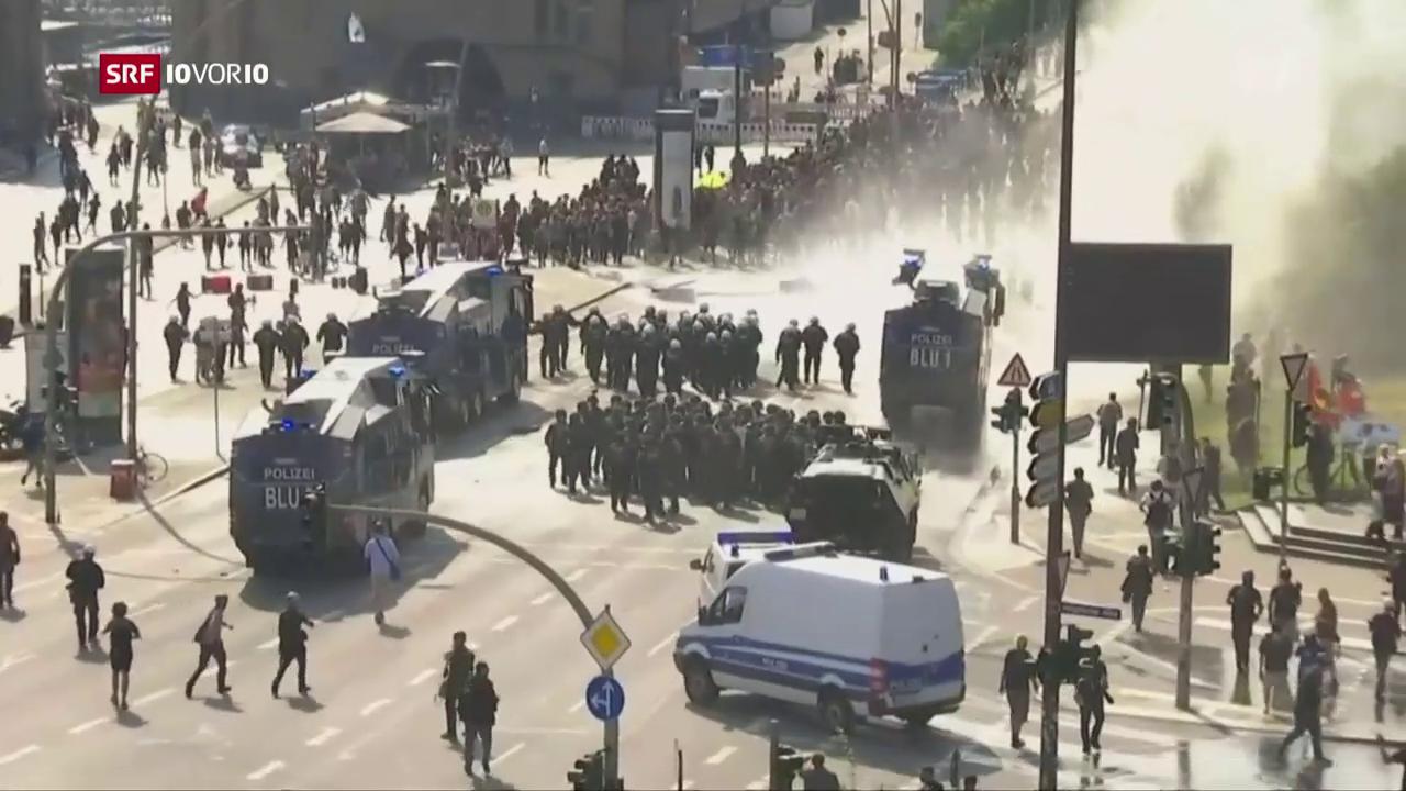 Friedlicher Protest im Schatten der Gewalt