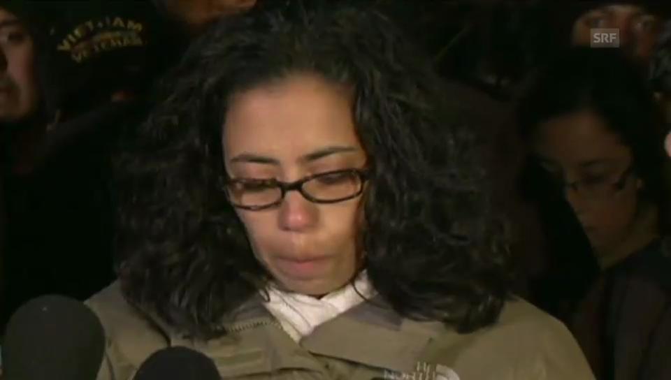 Verwandte spricht über ermordetes Familienmitglied