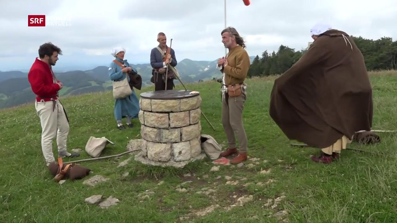 Pilger-Etappe 3: Über den Passwang