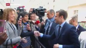 Video «Frankreich Wahlen» abspielen