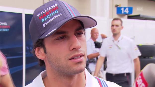Video «Formel 1: Felipe Nasr im Interview» abspielen