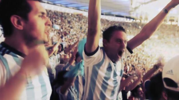 Video «Fussball: WM, Vorschau Argentinien - Iran» abspielen