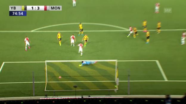 Video «Fussball: Champions-League-Qualifikation, Hinspiel, YB - Monaco, Pasalic trifft zum 3:1» abspielen