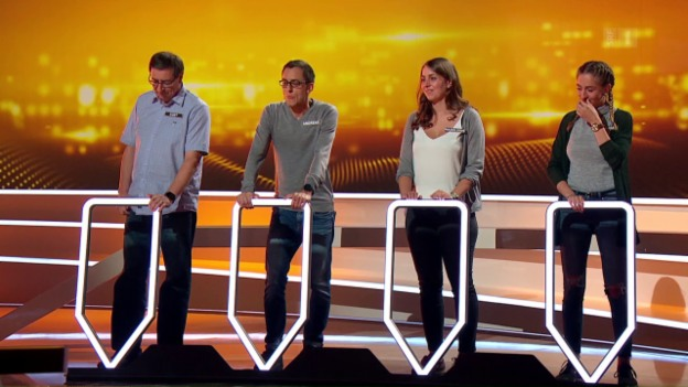 Video «Am Start bei «Wir mal vier» die Familie Kempf aus Heitenried.» abspielen