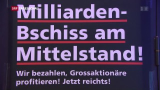 Video «Linke startet Abstimmungskampf gegen Unternehmenssteuerreform III» abspielen