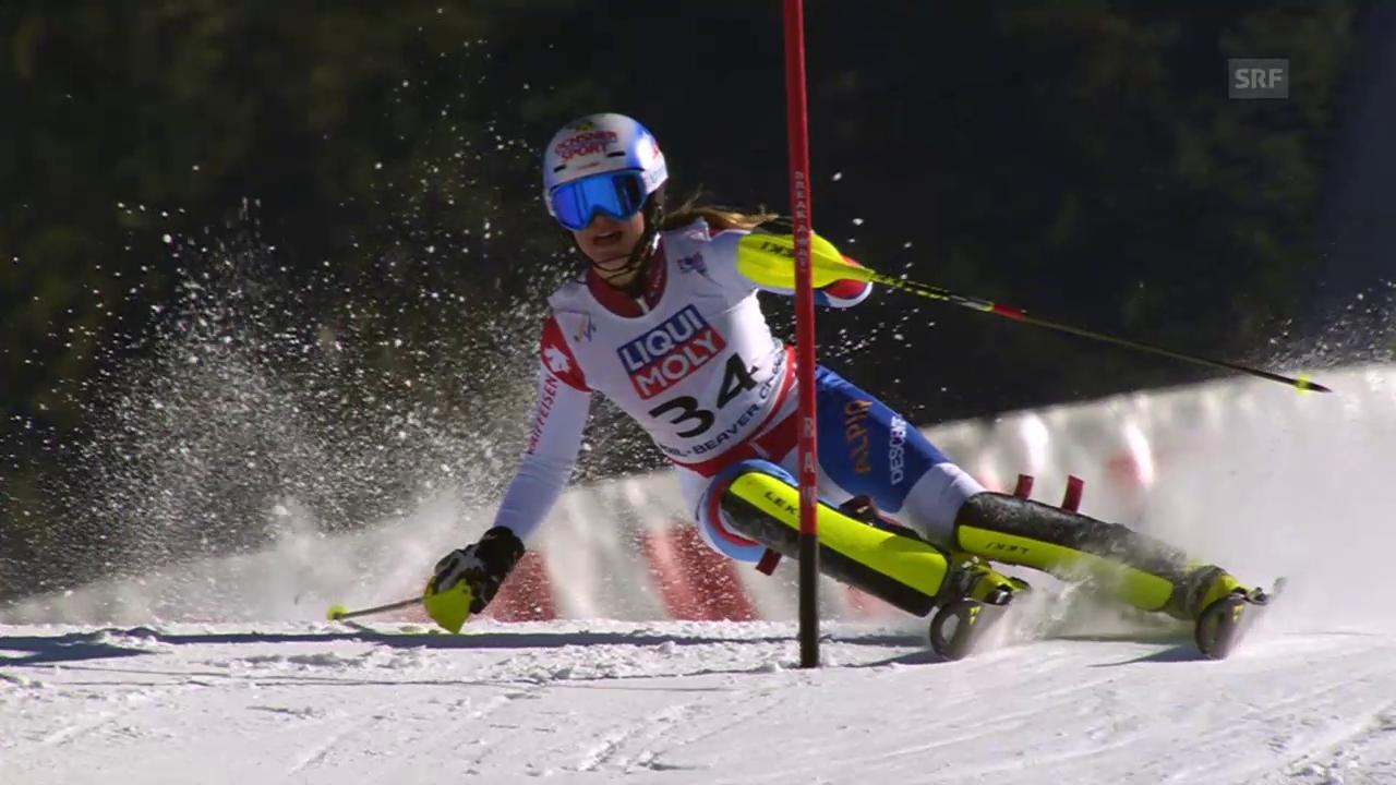 Ski apin: WM 2015 in Vail/Beaver Creek, Slalom der Frauen, 2. Lauf von Charlotte Chable