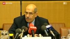 Video «El Baradei versucht Widerstand zu organisieren» abspielen