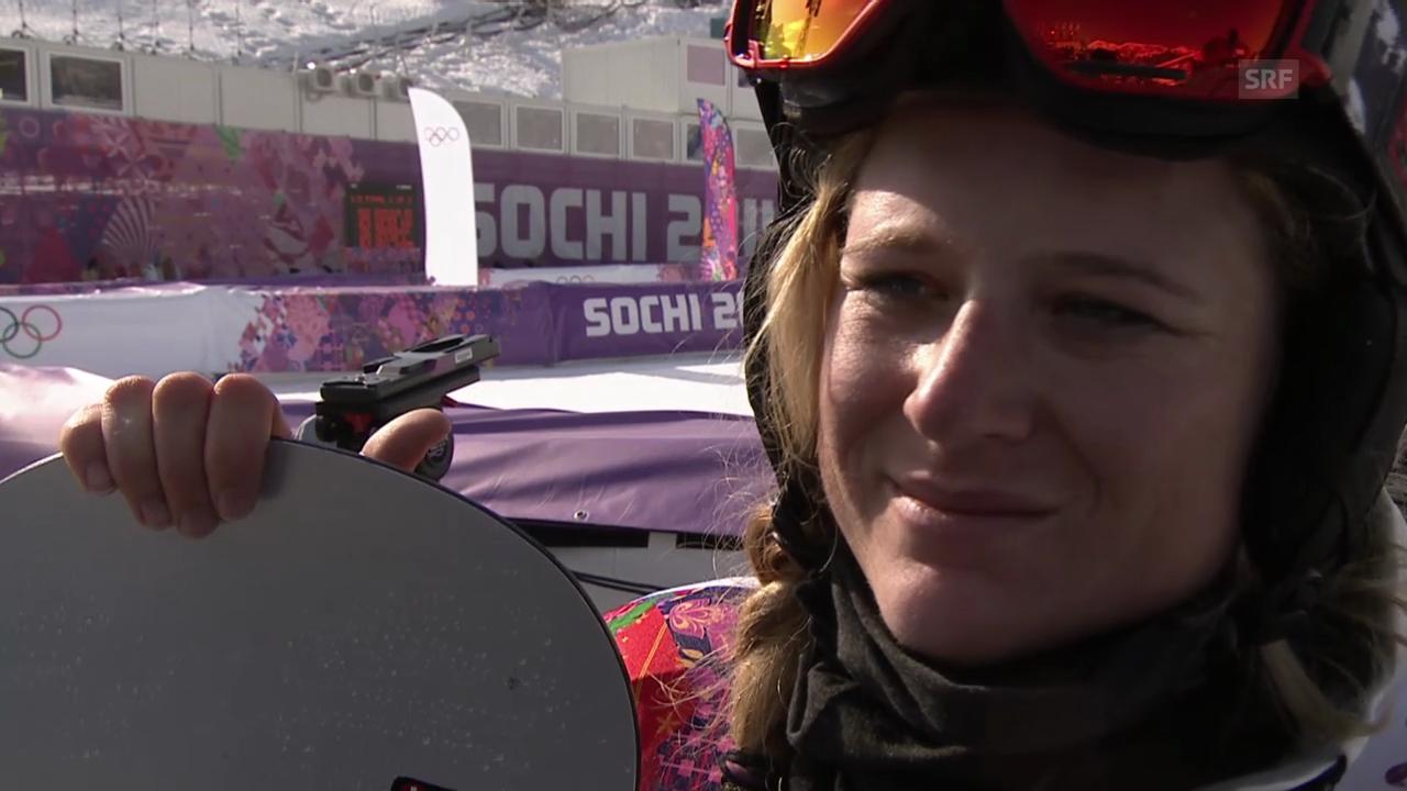 Boardercross: Interview mit Sandra Gerber (sotschi direkt, 16.02.2014)