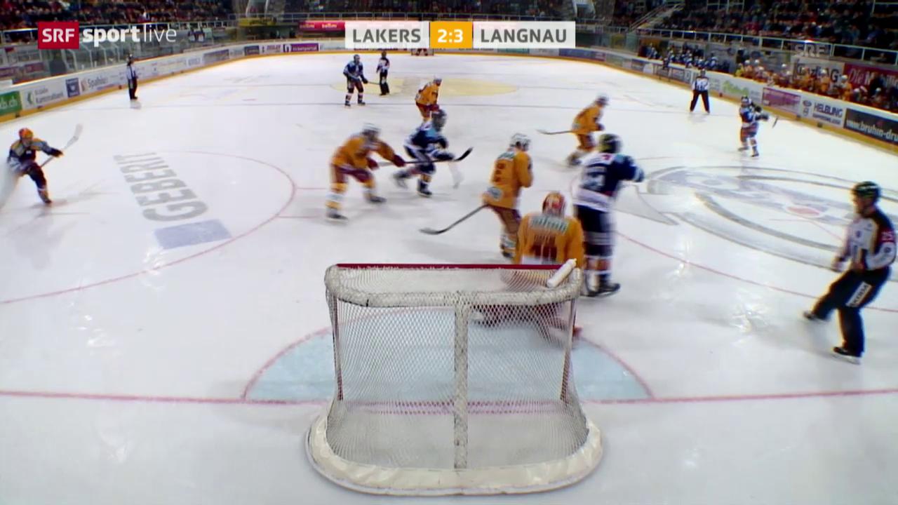 Eishockey: NLA/B, Ligaqualifikation, Lakers - Tigers